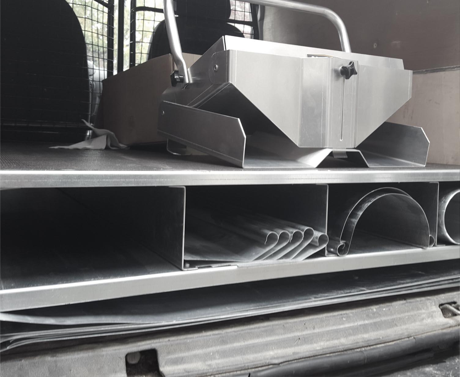 Feuille de zinc placard rangement plancher avec casier pour voiture