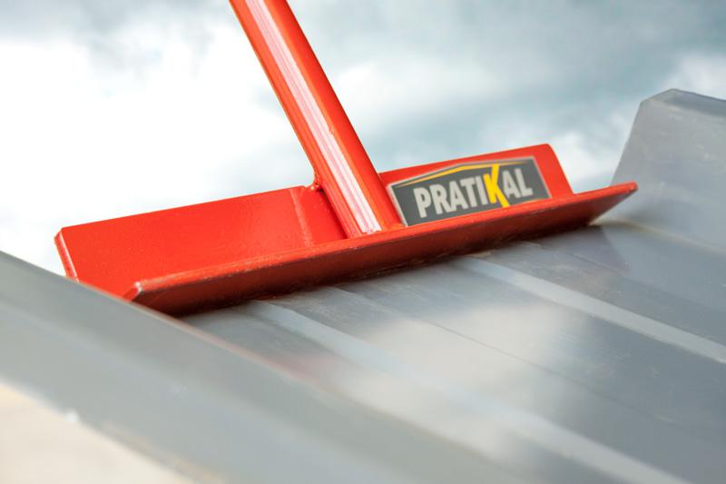 Outil innovant pince à bac acier Pratikal pour plier les tôles