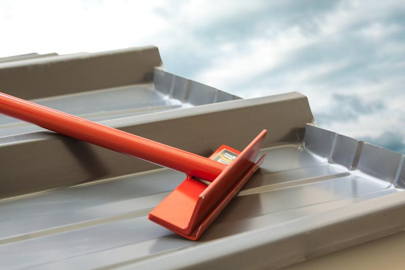Pliage de toit bac acier pour couvreur
