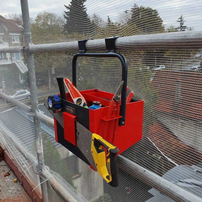 Caisse à outils pratikal pour toiture et charpente